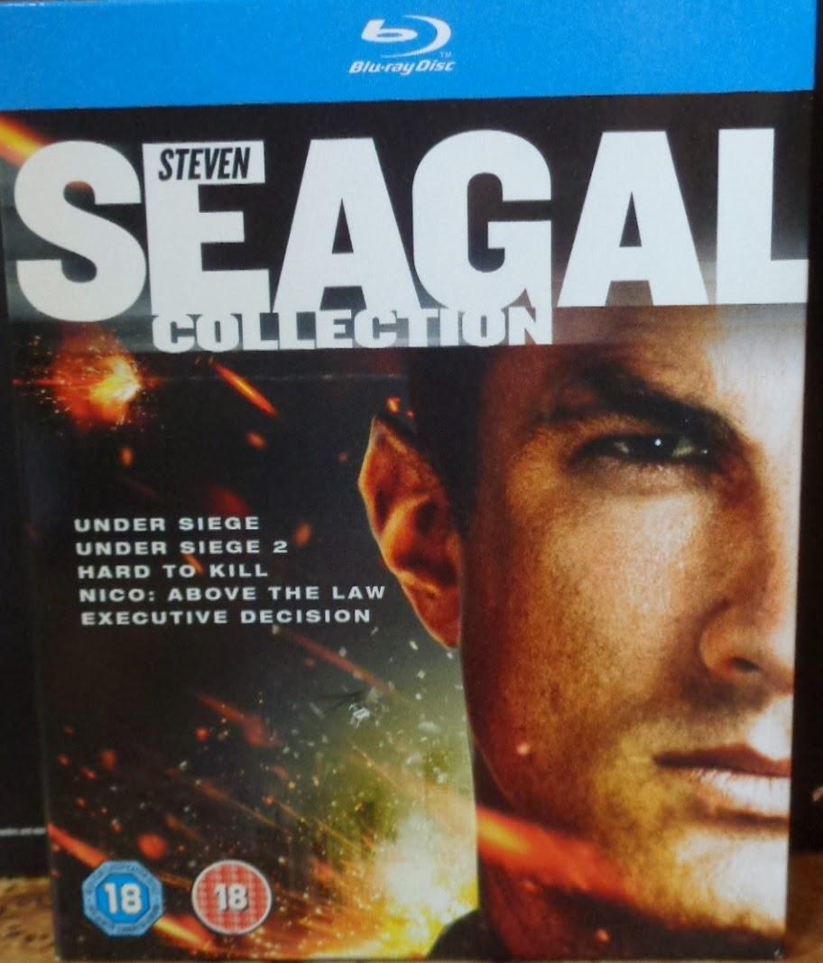 Collection Seagal Steven Dvd