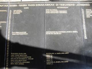 Prasasti granit KH.Abdur Rahman Wachid