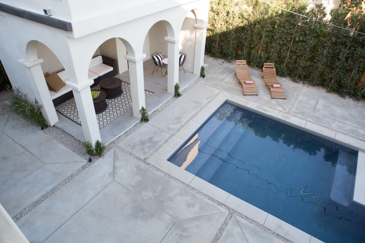 Beautiful villa with European inspired interiors by Leigh Herzig - seen on Hello Lovely