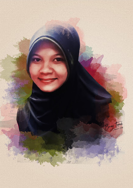 Digital Painting Siti Romla