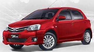 Harga Toyota Etios Valco Red Mica Metallic di Pontianak