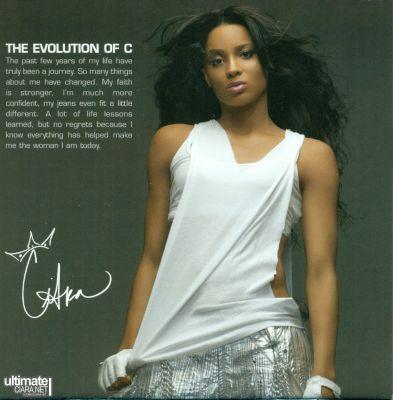 cd da ciara the evolution