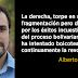 Alberto Garzón: Sobre la revolución en Venezuela