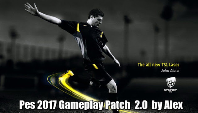 PES 2017 Alex Gameplay Patch V2.0