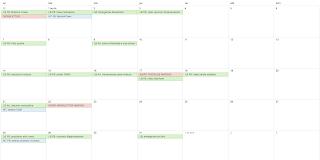 Calendario contenidos