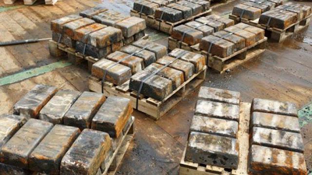 penemuan logam perak yang hilang dari kapal ss Gairsoppa
