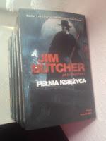 """Pełnia księżyca"" Jim Butcher, fot. paratexterka ©"