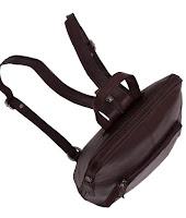 City Womens Backpack Handbag Brown 'Ivy'