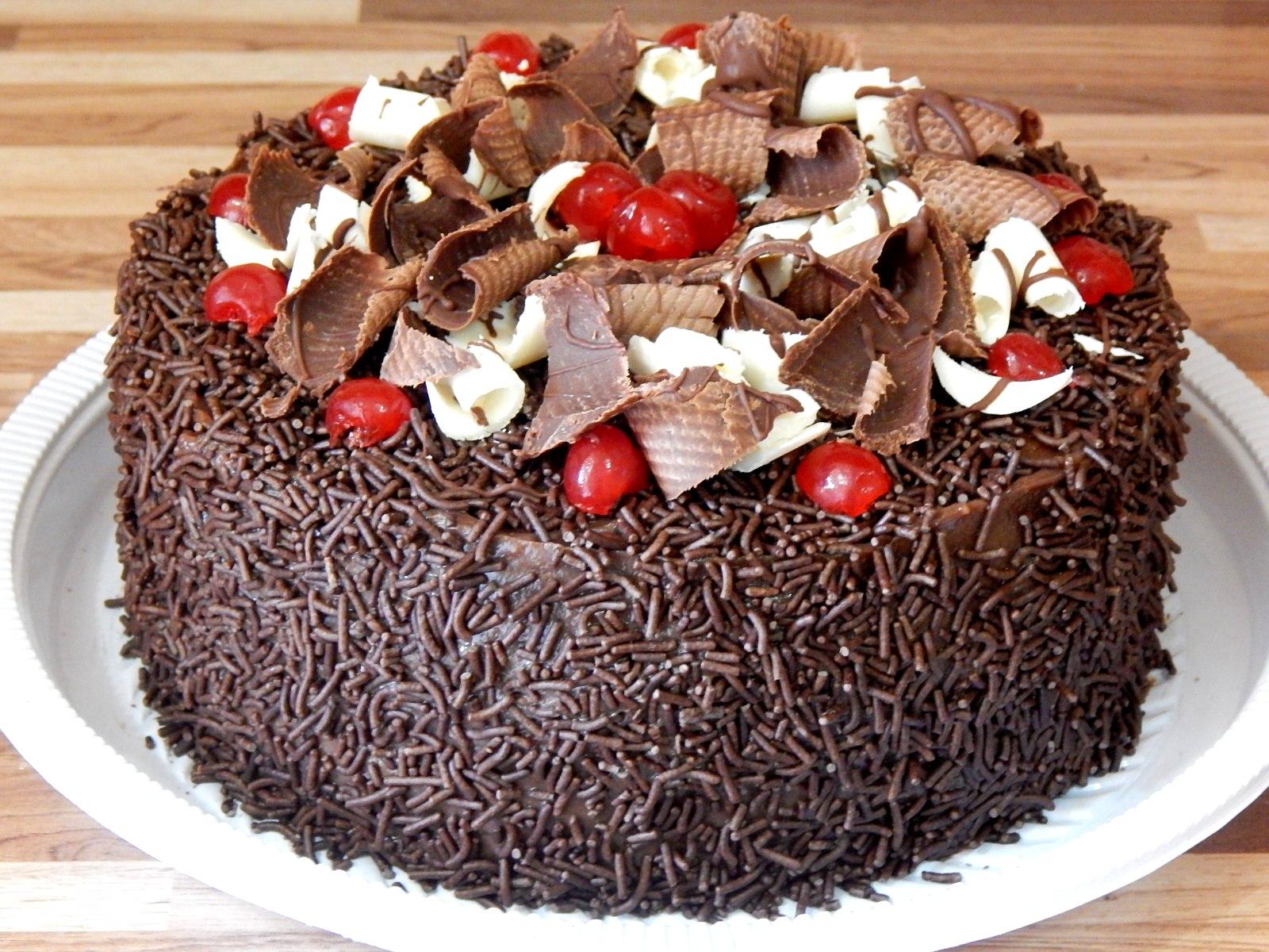 Tortas Decoradas Com Chocolate