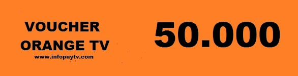 Voucher Orange TV 50 Ribu