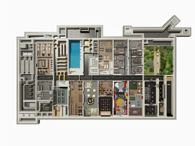 Image First Floor The Oppidum : Billionaire Bunker :The Czech Republic