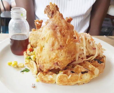 Chicken and waffles - Sunday Barnsbury