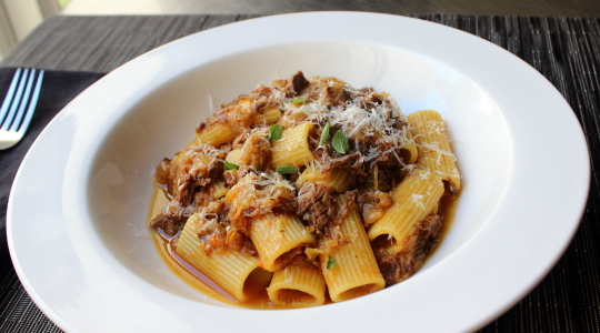 Food wishes video recipes rigatoni alla genovese maybe the best rigatoni alla genovese maybe the best meat sauce youve never heard of forumfinder Image collections