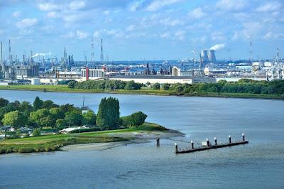 Scheldt River Harbour