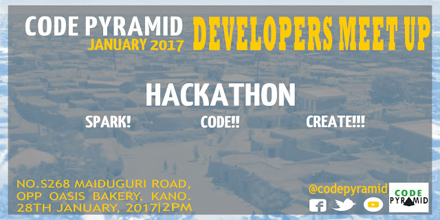 CODE PYRAMID WILL HAVE A HACKATHON THIS MONTH IN KANO