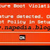 Secure Boot Violation [Error Installasi OS]