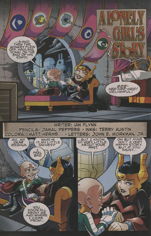 Read online Sonic The Hedgehog comic -  Issue #202 - 19