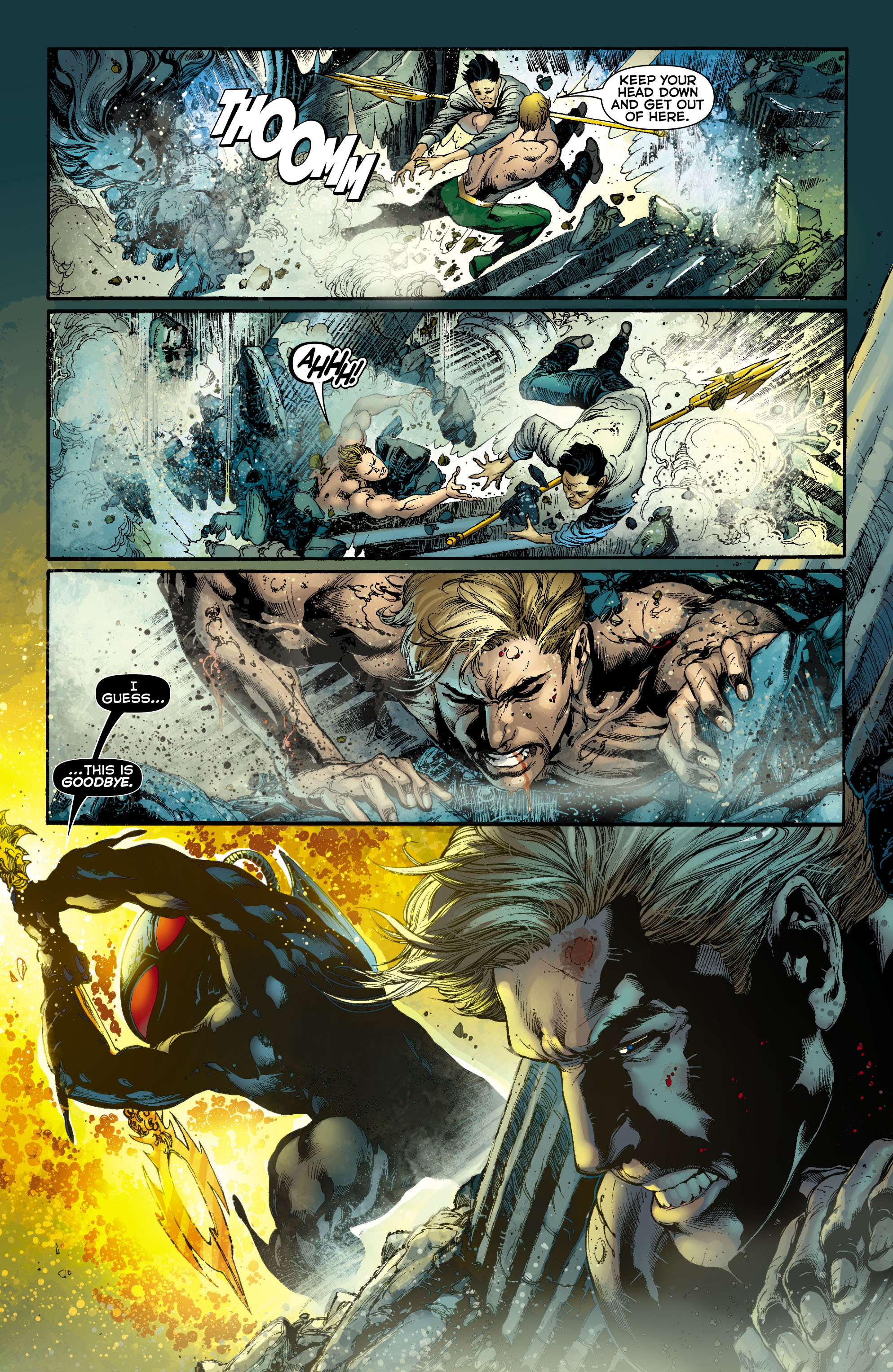 Read online Aquaman (2011) comic -  Issue #12 - 10