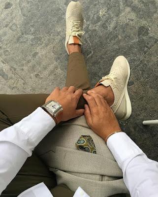 moda en zapatos de hombre
