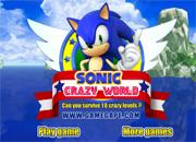 Juegos de Sonic crazy Word