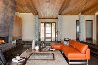 Sala revestimiento madera