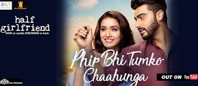 Main Phir Bhi Tumko Chahunga Chords- Half Girlfriend