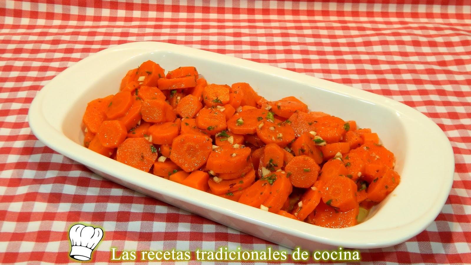 Como preparar zanahorias alinadas