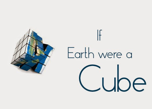 if earth were a cube