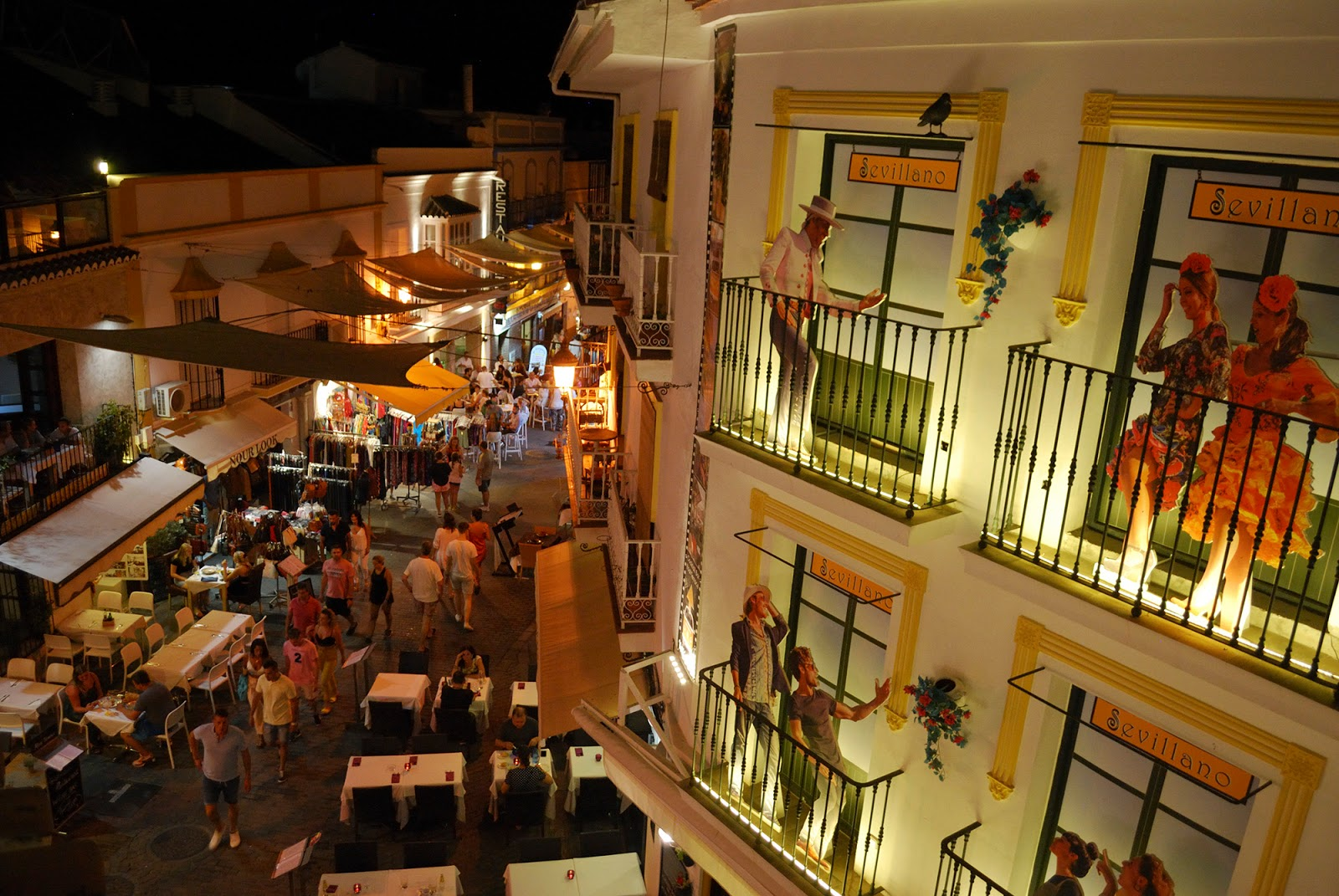 sevillano restaurant old town nerja spain malaga