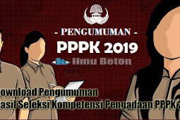 Download Pengumuman Hasil Seleksi Kompetensi Pengadaan PPPK 2019