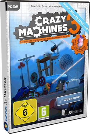 Crazy Machines 3 (2016) PC Game Español