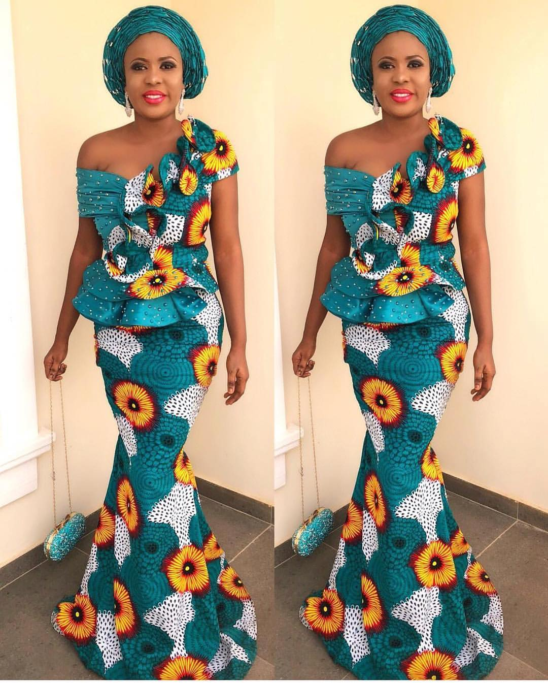 11037d5adf9d LATEST ANKARA LONG GOWN STYLES FOR CUTE LADIES