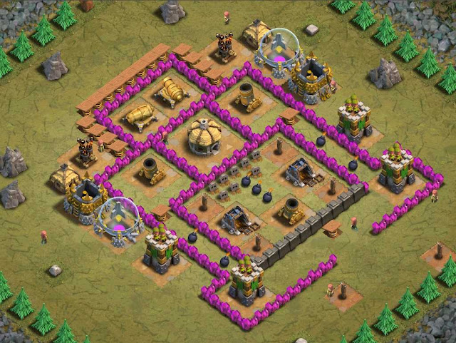 Goblin Base Clash of Clans Jump Around