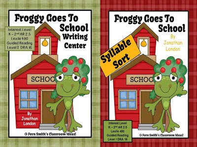 Fern Smith's Froggy Goes to School Centers