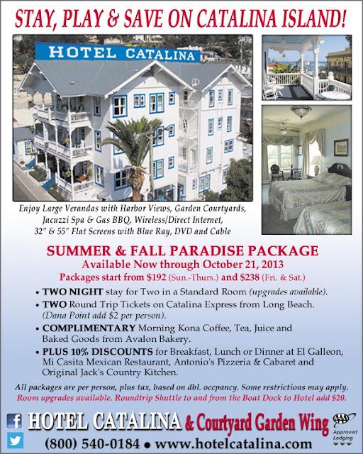 Hotel Catalina Catalina Island August 2013