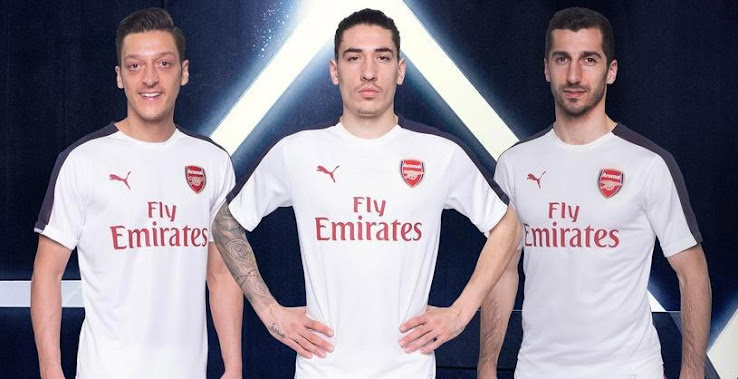 a66adda51 Arsenal have launched the first anthem jacket and pre-match shirt for next  season