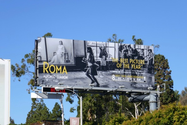 Roma 8 Critics Choice nominations billboard