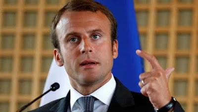 ماكرون رئيس فرنسا