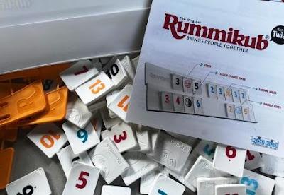 Open Rummikub box
