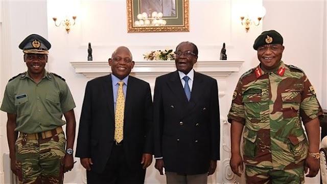 Zimbabwe President Robert Mugabe makes first public appearance since coup