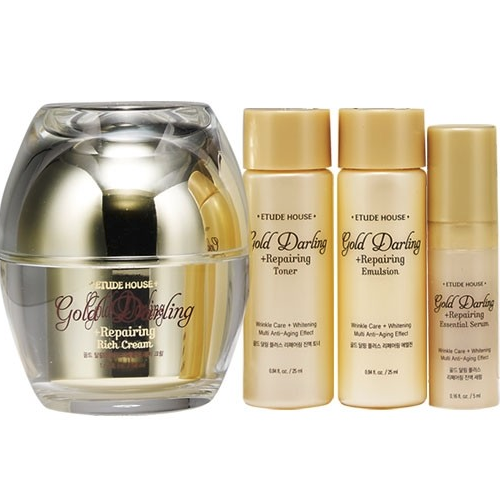 Gold Darling Plus Repairing Rich Cream Set 50ml