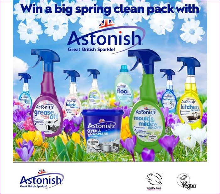 Win a Big Spring Clean Pack With Astonish