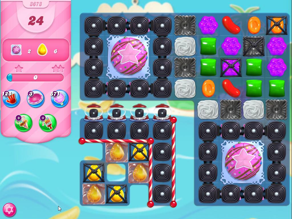 Candy Crush Saga level 3673