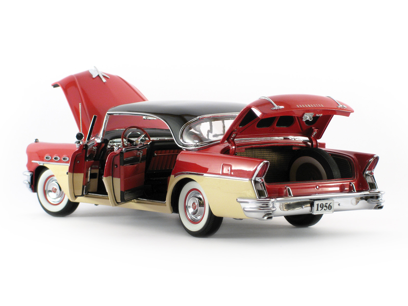 Danbury mint 1956 buick roadmaster riviera for The danbury
