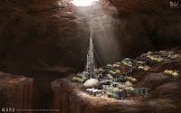 Underground colony on Mars