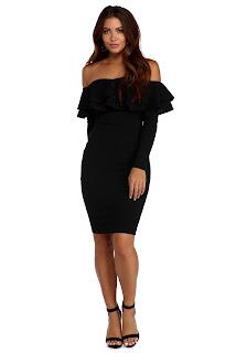 image result amazon ruffle dress