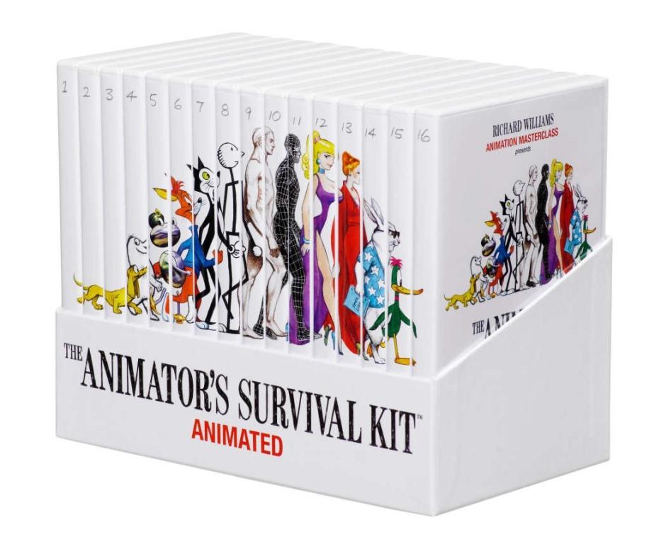 Kit de Supervivencia para Animadores [Video Curso] [16 DVDrip]
