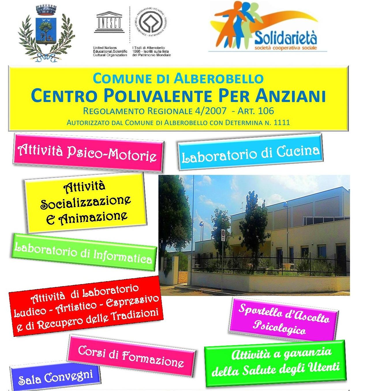 Favoloso Centro Polivalente per Anziani - Alberobello VM29