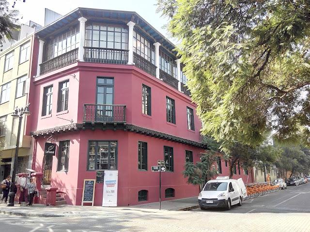 Barrio Lastarria Santiago de Chile