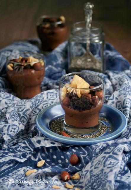 domowy deser, owsianka czekoladowa, daylicooking, Małgorzata Kijowska